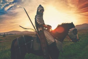 man on a high horse judging everybody shielded from connection