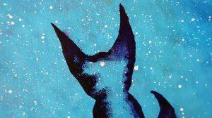 pictura Micul Print acrilice pe panza vulpe