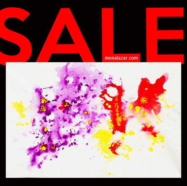 painting on sale, acrylics on canvas, fluid art, purple, yellow, red