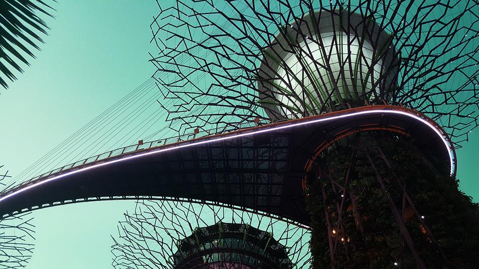 Japanese suspended garden modern architecture ego pride dare